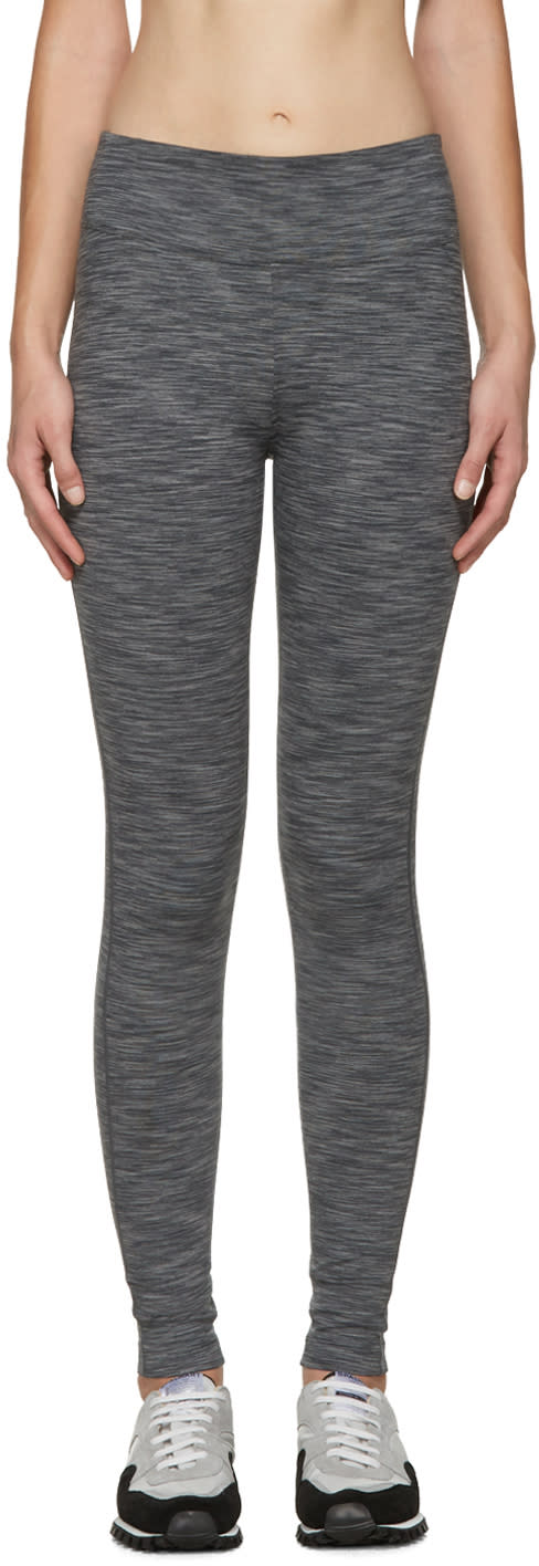 A.p.c. X Outdoor Voices Grey Graphic Leggings