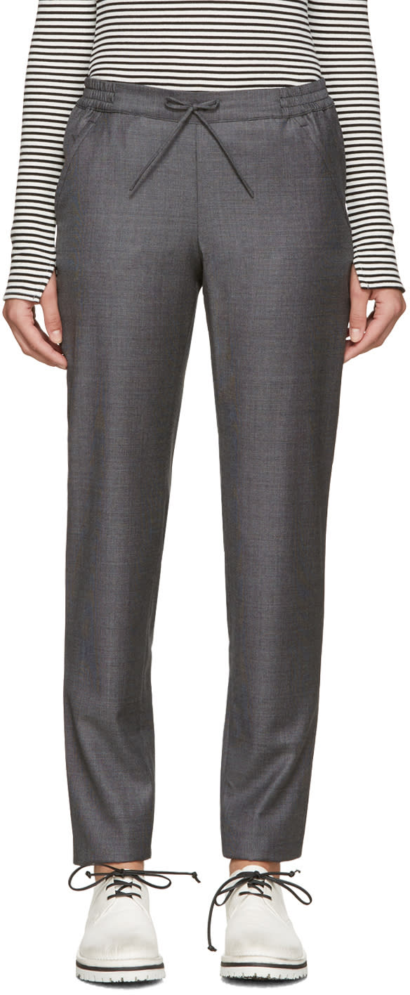 A.p.c. Grey Madeleine Trousers