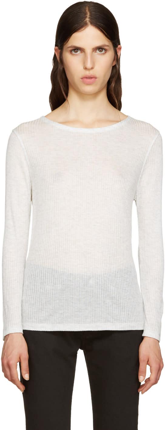 A.p.c. Grey Regina T-shirt