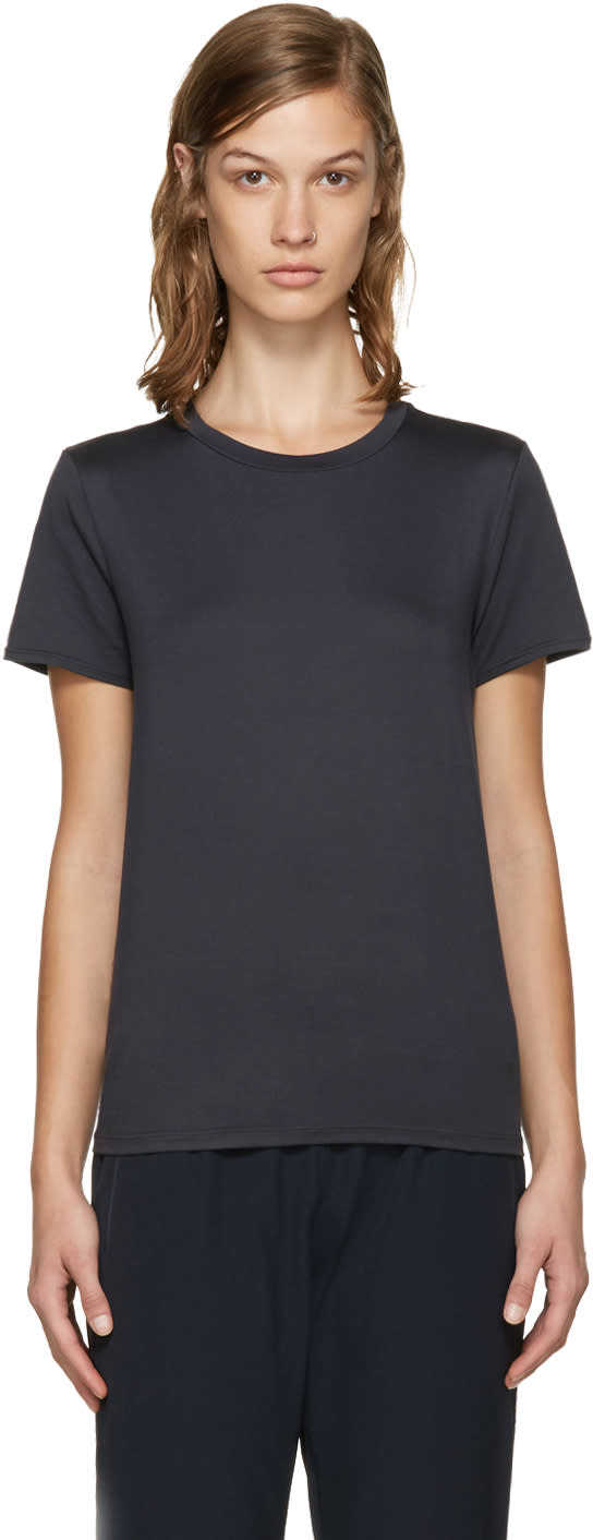 A.p.c. X Outdoor Voices Navy Racer T-shirt
