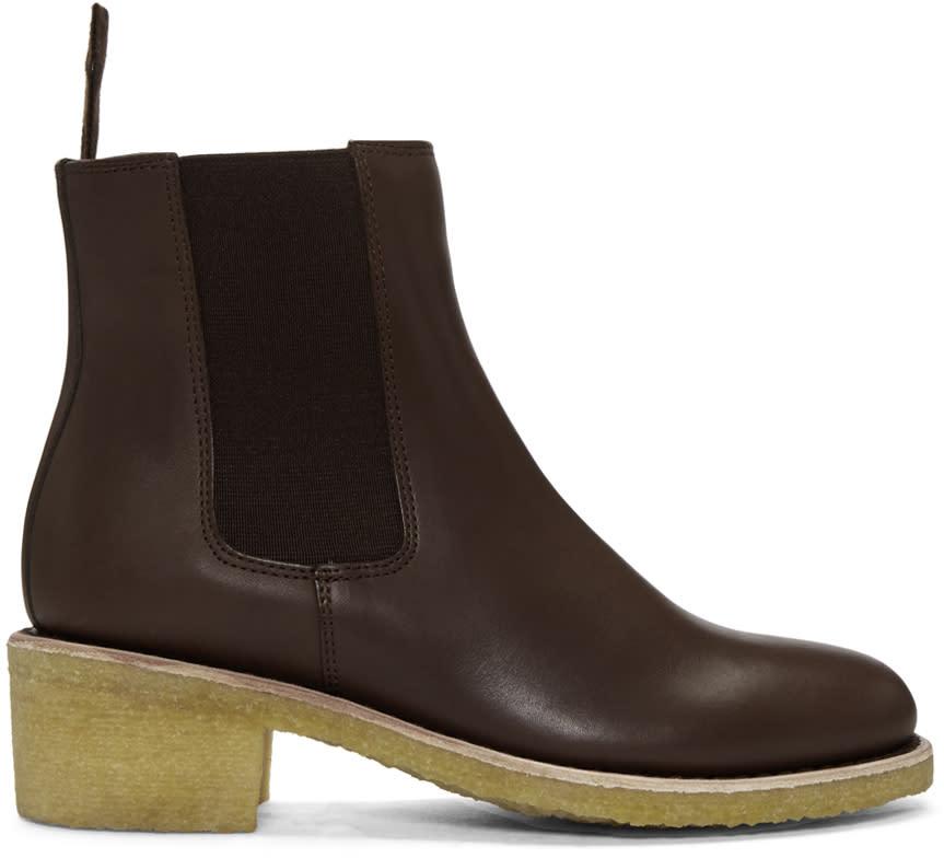 A.p.c. Brown Maisie Boots