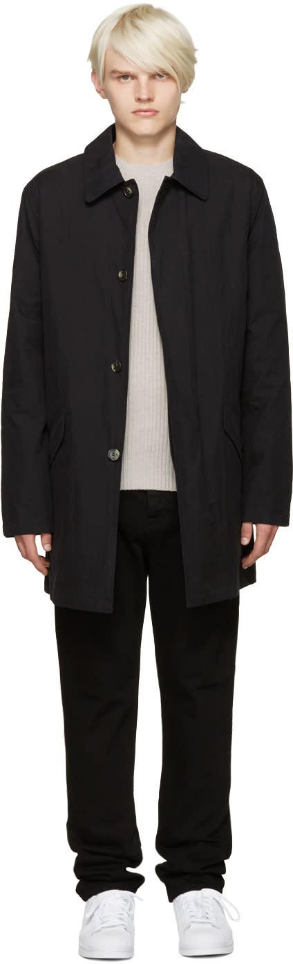 A.p.c. Black Mac Coat