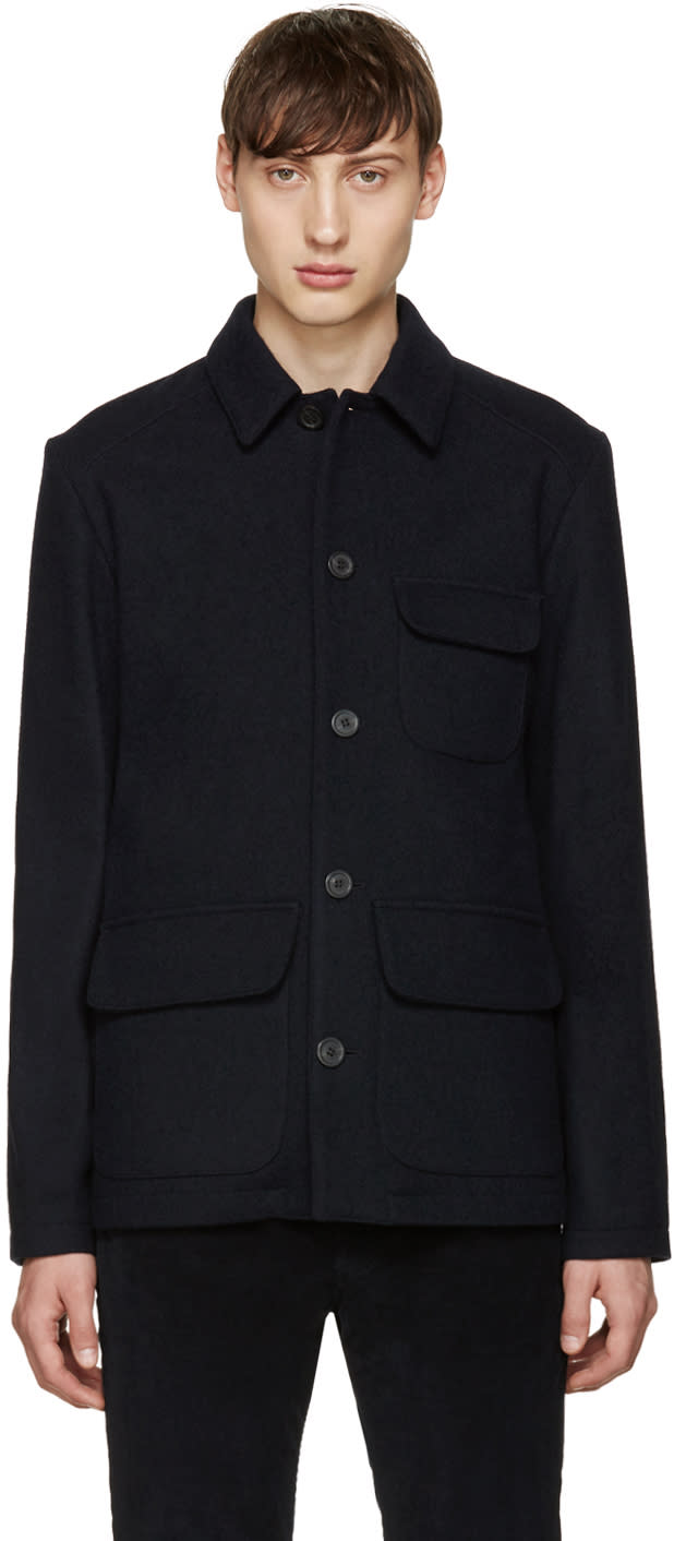 A.p.c. Navy Elsenhower Jacket