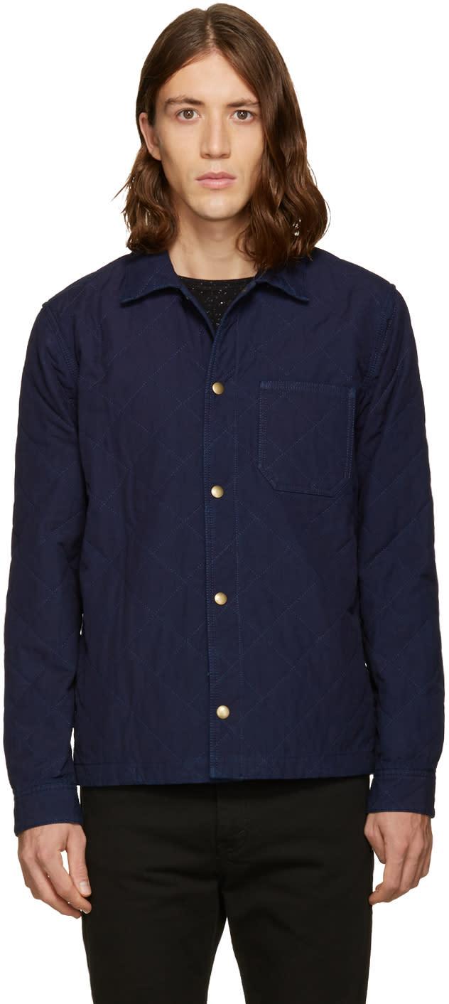 A.p.c. Indigo Surchemise Cole Jacket