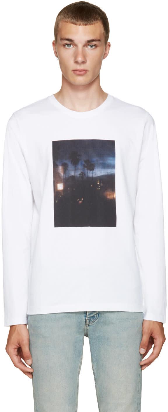A.p.c. White La T-shirt