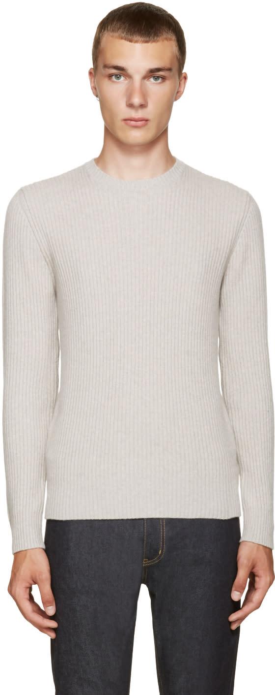 A.p.c. Grey Socks Sweater