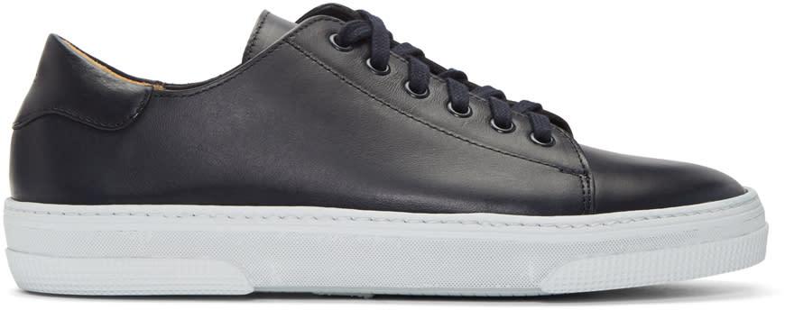 A.p.c. Navy Tennis Sneakers