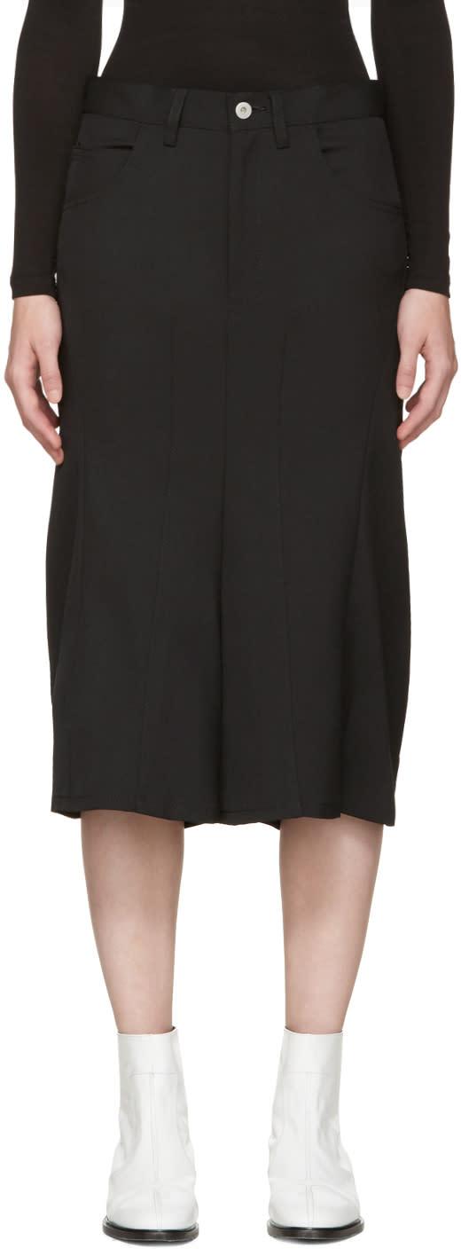 Junya Watanabe Black Cropped Trousers