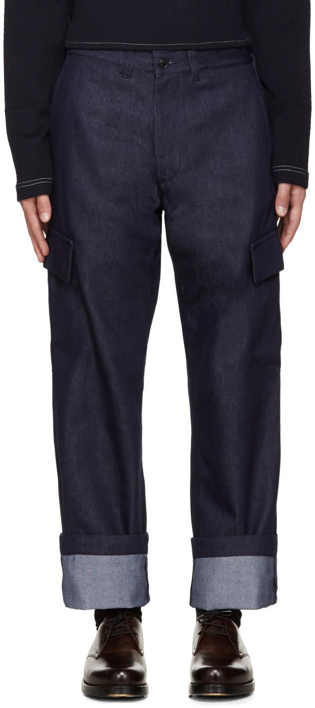 Junya Watanabe Indigo Cargo Trousers