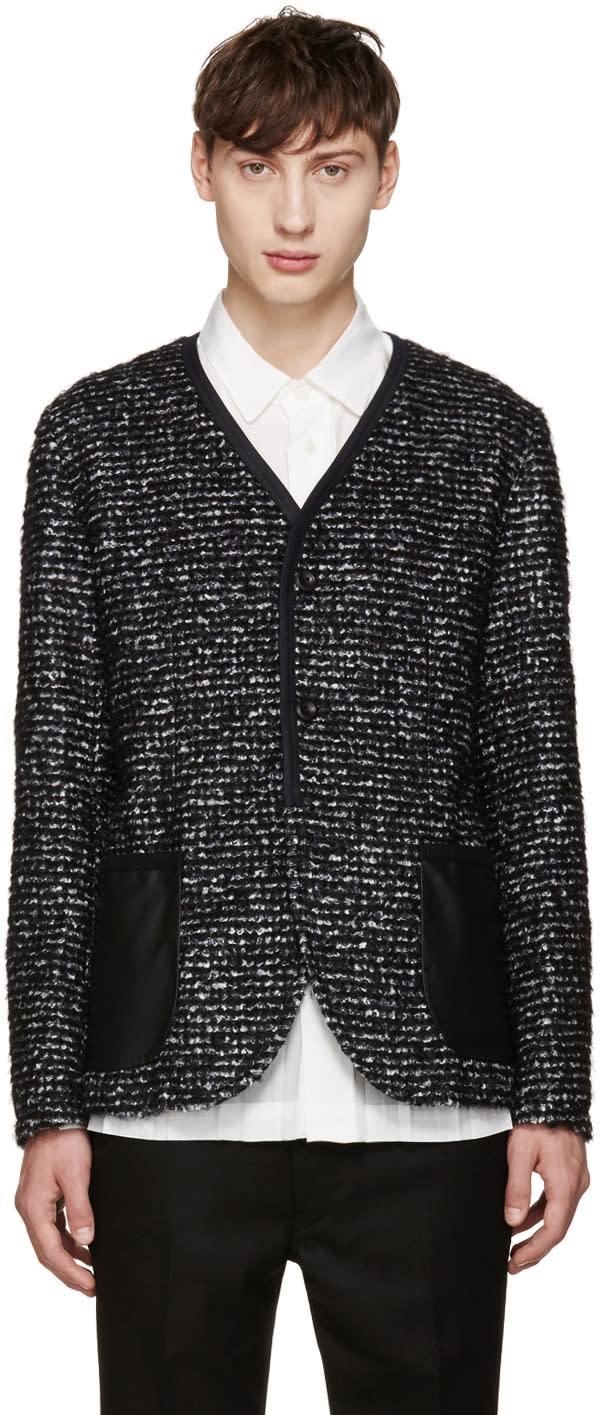 Junya Watanabe Black Tweed Blazer