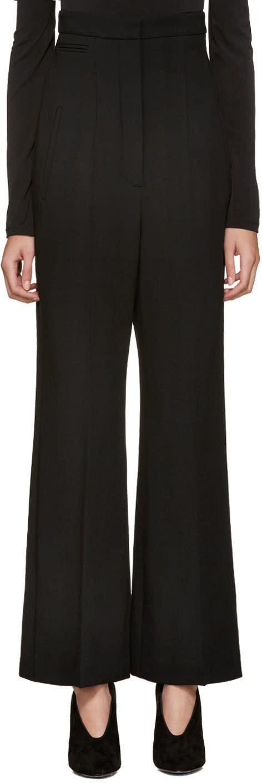 Lanvin Black High-rise Trousers