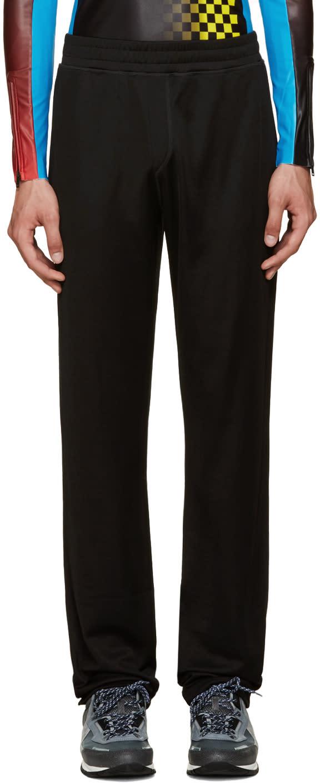 Lanvin Black Jersey Lounge Pants