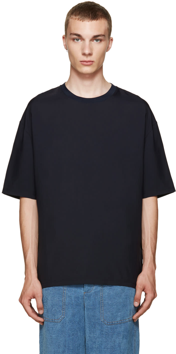 Lanvin Navy Classic T-shirt
