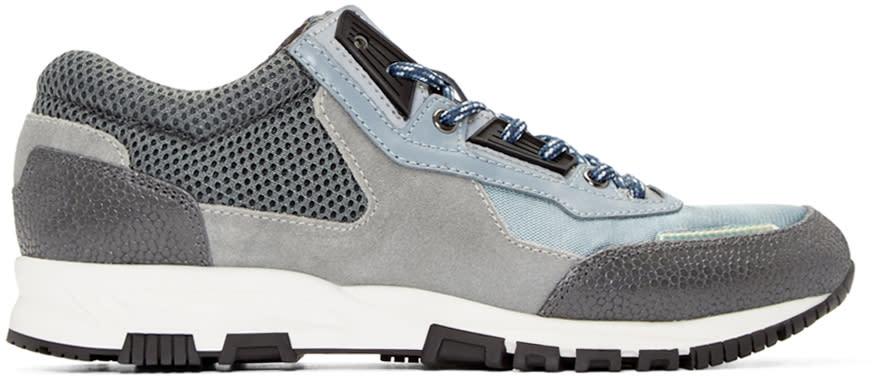 Lanvin Grey Mix Sneakers