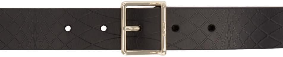 Paul Smith Black No 9 Embossed Belt