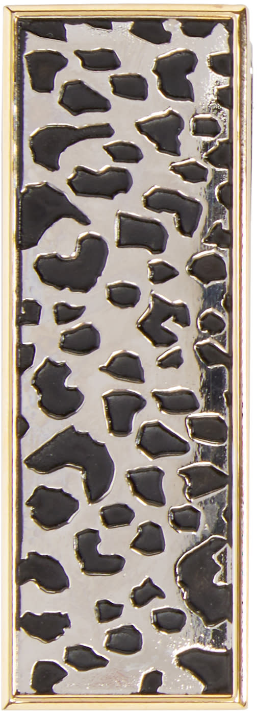 Paul Smith Silver Leopard Money Clip