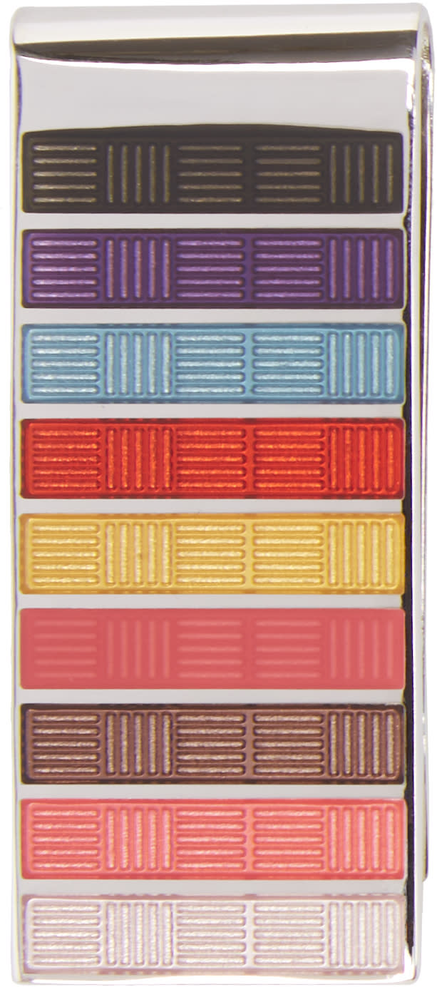 Paul Smith Multicolor Refresher Money Clip