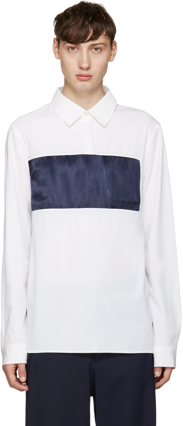 Opening Ceremony White Lincoln Shirt