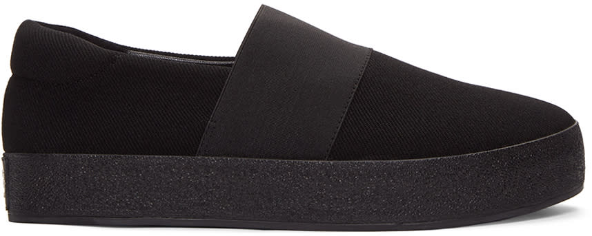 Opening Ceremony Black Classic Slip-on Sneakers