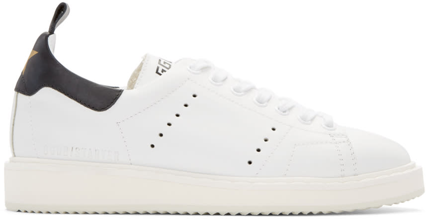 Golden Goose White Off-white Edition Starter Sneakers