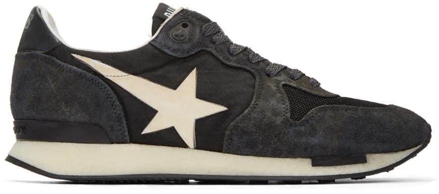 Golden Goose Black Runner Sneakers