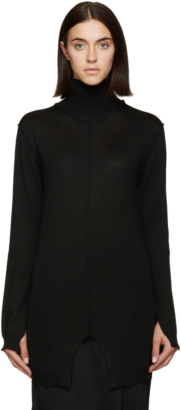 Damir Doma Black Kandinsky Turtleneck