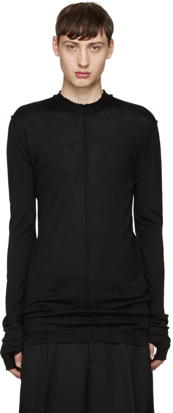 Damir Doma Black Wool Kidman Pullover