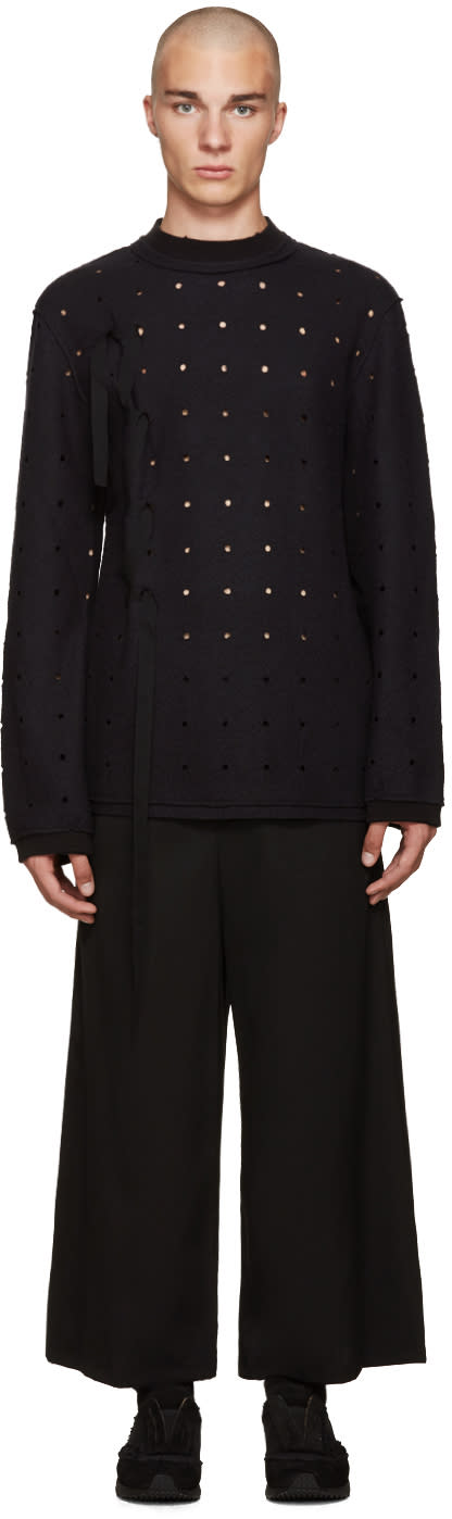 Damir Doma Black Wonka Dots Sweater