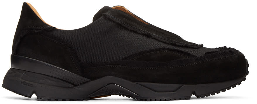 Damir Doma Black Freud Slip-on Sneakers