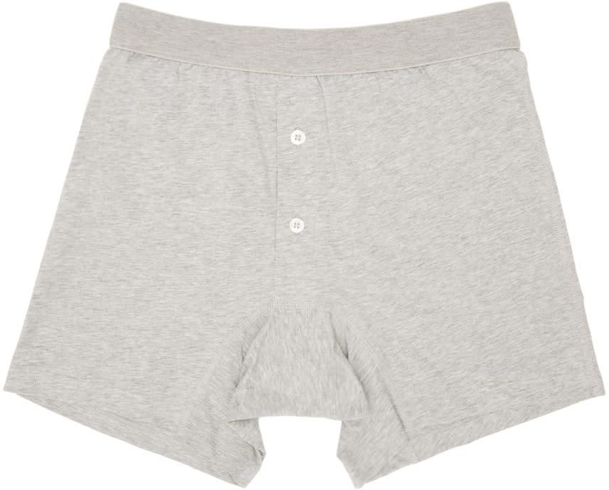 Comme Des Garçons Shirt Grey Boxer Briefs