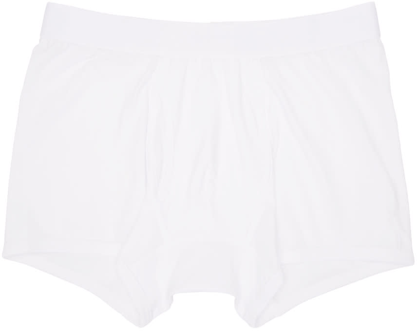Comme Des Garçons Shirt White Boxer Briefs