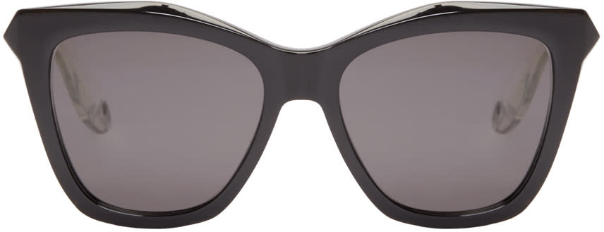 Givenchy Black Cat-eye Sunglasses