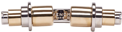 Givenchy Silver and Gold Open Obsedia Ring