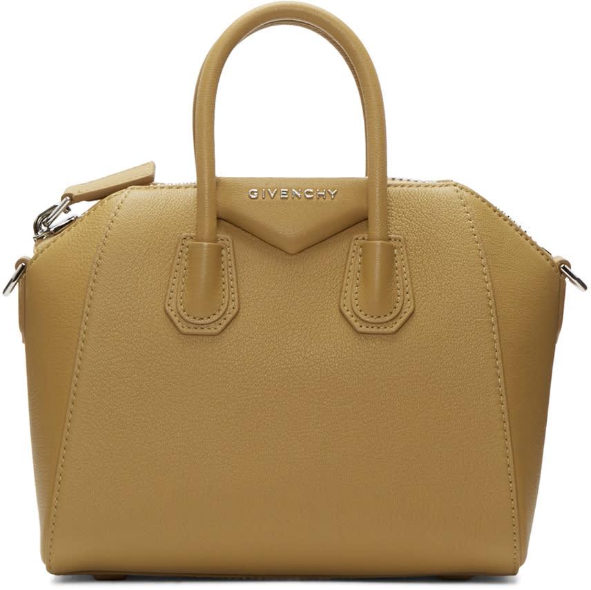 Givenchy Tan Mini Antigona Bag