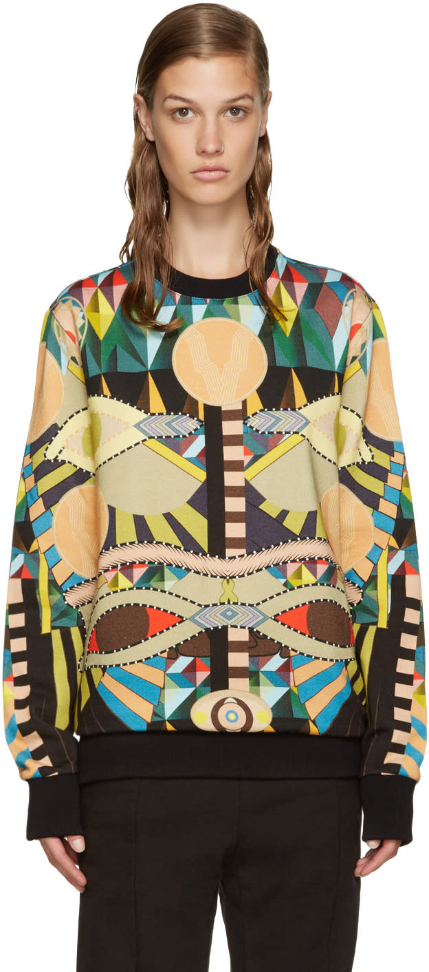 Givenchy Multicolor Cleopatra Pullover