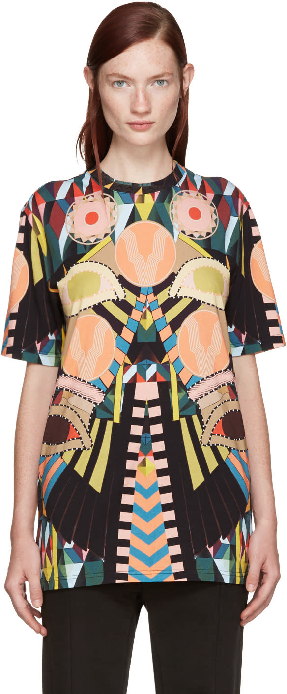 Givenchy Multicolor Eyes T-shirt