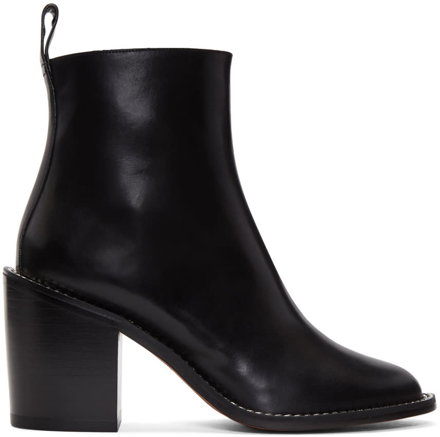 Givenchy Black Chain Boots