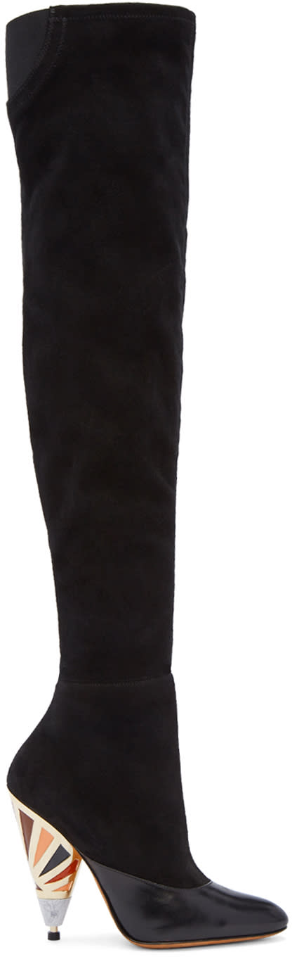 Givenchy Black Prism Over-the-knee Boots