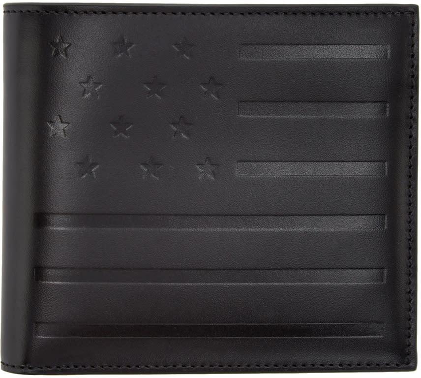 Givenchy Black American Flag Wallet