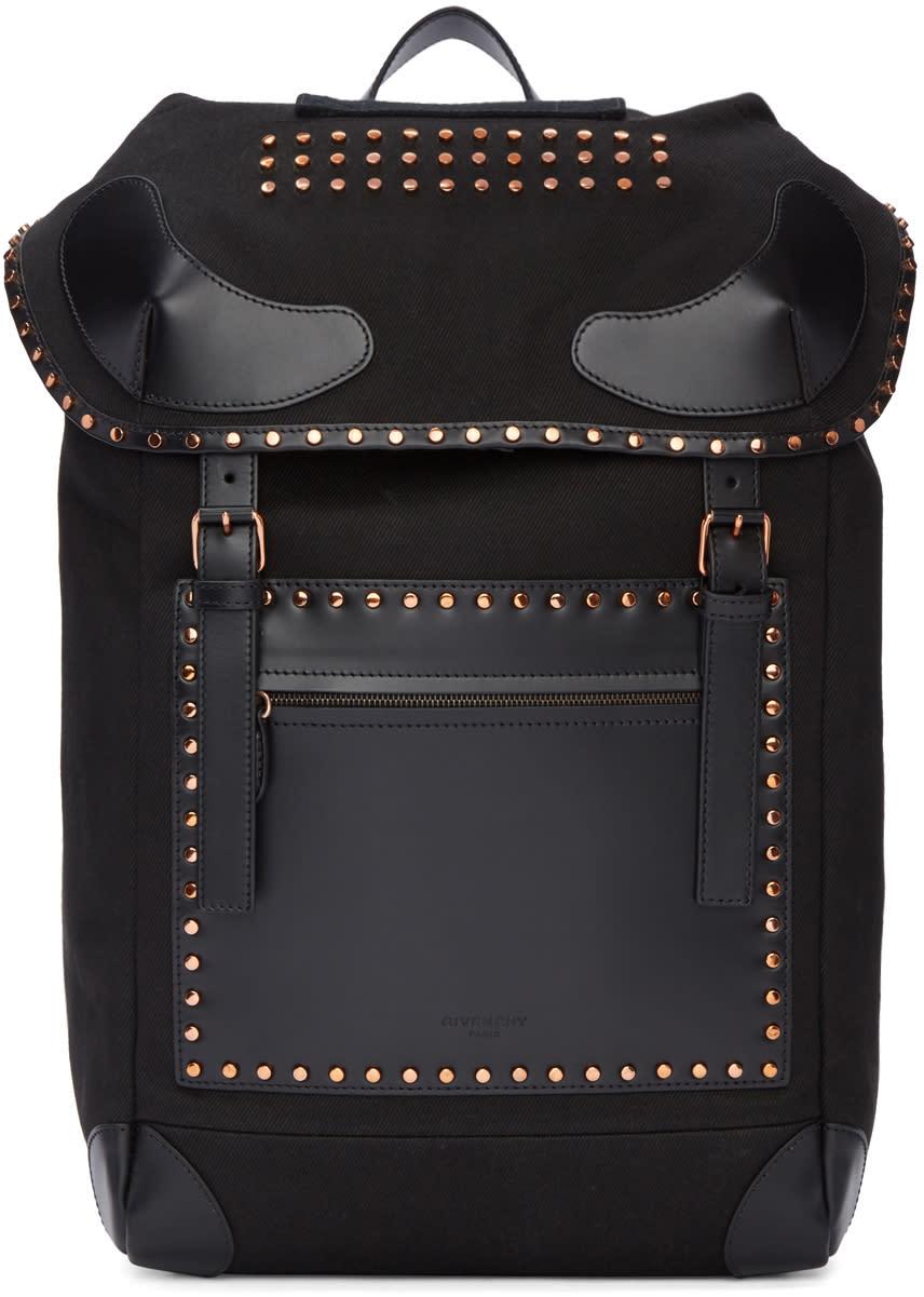 Givenchy ブラック ライダー バックパック