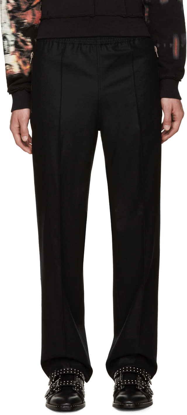Givenchy Black Wool Trousers