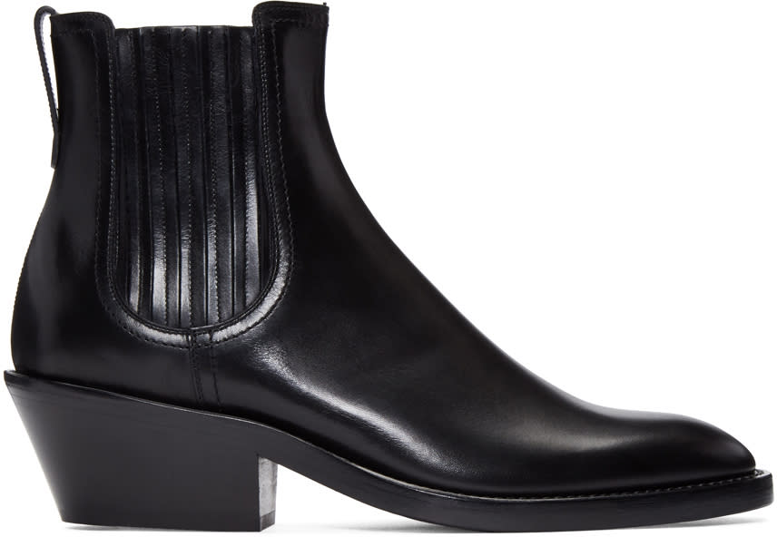 Givenchy Black Chelsea Boots
