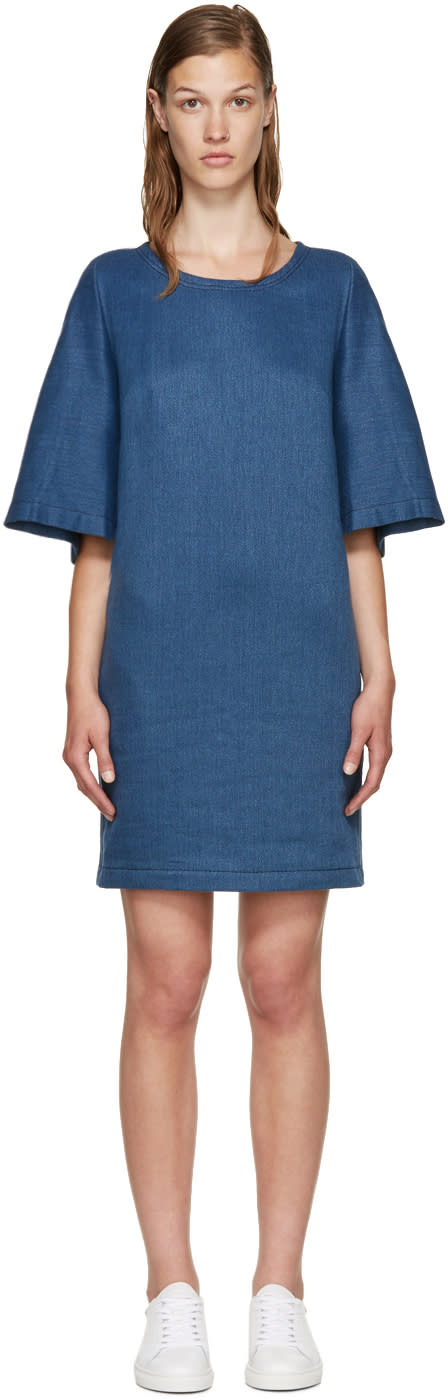 3.1 Phillip Lim Indigo Twill Dress