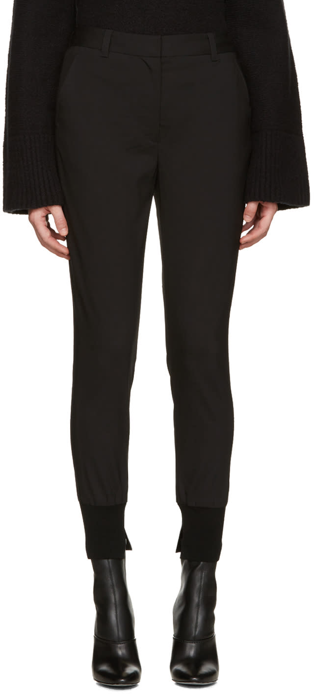 3.1 Phillip Lim Black Jogger Trousers