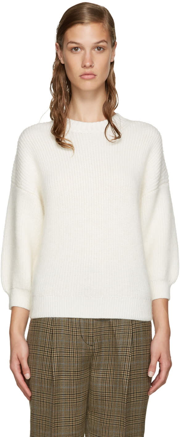 3.1 Phillip Lim Off-white Crewneck Sweater
