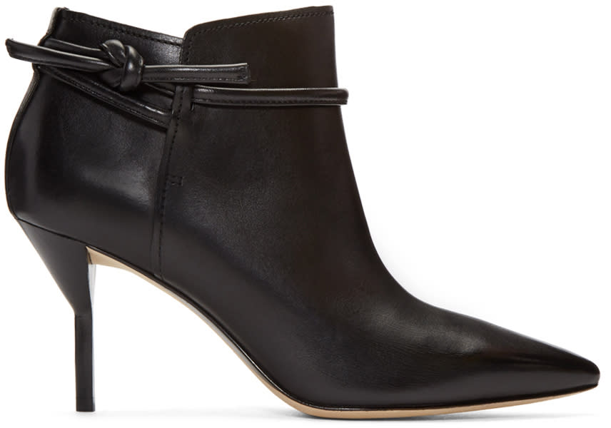 3.1 Phillip Lim Black Martini Boots
