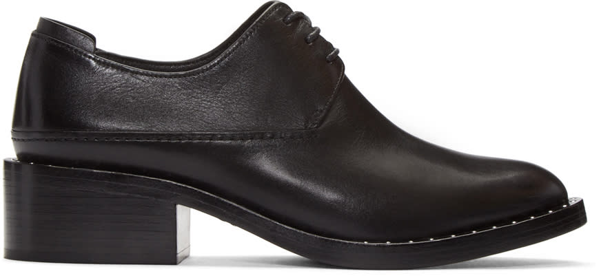 3.1 Phillip Lim Black Alexa Derbys