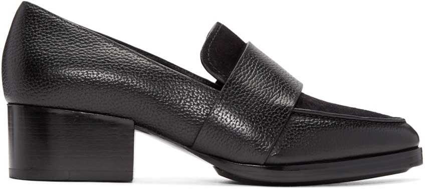 3.1 Phillip Lim Black Quinn Loafers