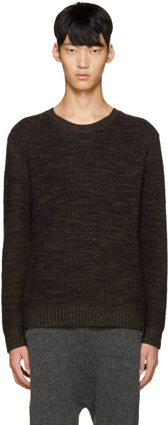 3.1 Phillip Lim Navy Wool Sweater