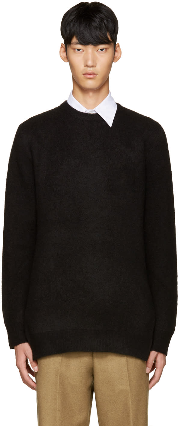 3.1 Phillip Lim Black Wool Tunic Sweater